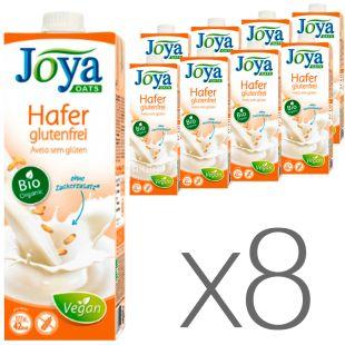 Joya Oats Organic Hafer glutenfrei, Упаковка 8 шт. по 1 л, Джоя, Вівсяне молоко органічне, без глютену і лактози