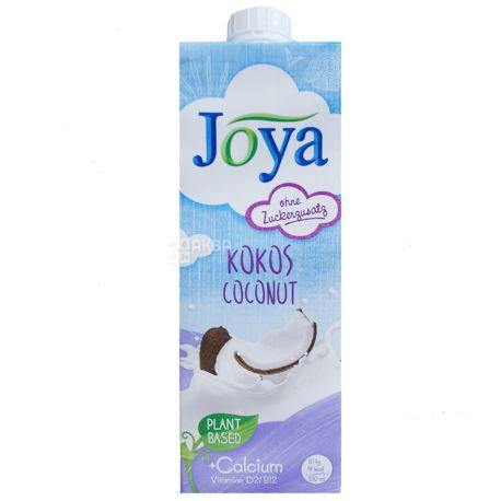 Joya Kokos Coconut Calcium, 1 л, Джоя, Кокосове молоко, з кальцієм і вітамінами