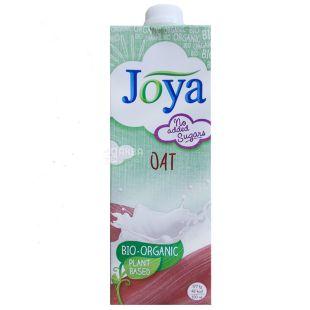 Joya Oat Organic, 1 л, Джоя, Вівсяне молоко, органічне, без цукру і лактози