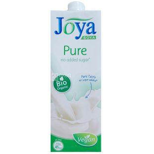 Joya Pure Organic, 1 л, Джоя, Соєве молоко, органічне, без цукру і лактози