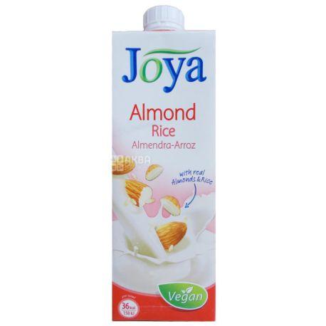 Joya Rice Almond, 1 л, Джоя, Рисово-мигдалеве молоко, органічне