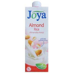 Joya Rie Almond Drink, Rice-Almond Drink, 1 L