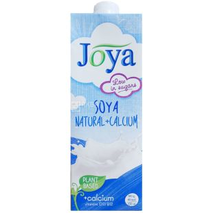 Joya Natural Calcium, Soy Beverage with Calcium, 1 L