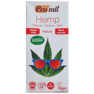 Ecomil, Hemp,1 л, Экомил, Растительный напиток, Конопля, без сахара