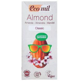 Ecomil Almond, 1l, Organic Almond Milk, Classic