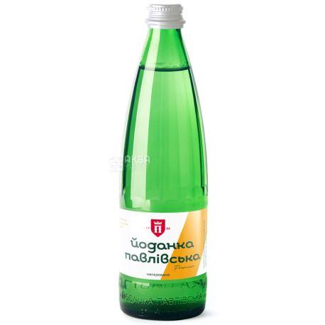 Йоданка Павловская, 0,5 л, Упаковка 10 шт., Вода минеральная негазированная, стекло