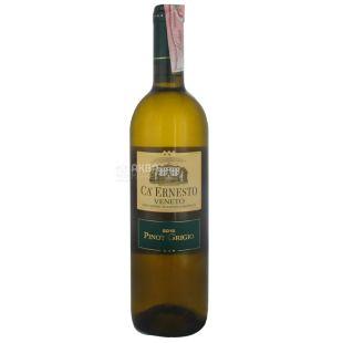 Ca Ernesto Pinot Grigio, Вино белое сухое, 0,75 л