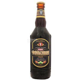 Persha Privatna Brovarnya Beer Draft special unfiltered dark, 4.8%, 0.5 l