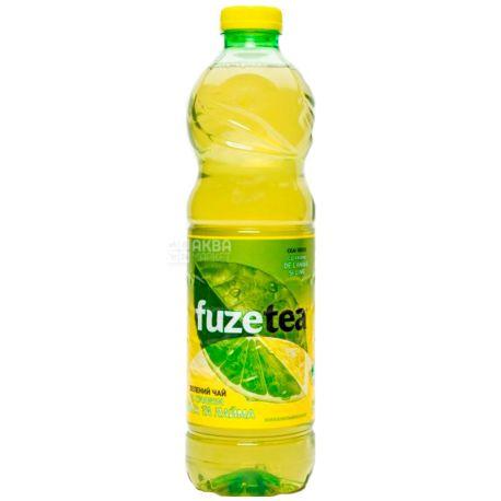 Fuzetea, 0,5 л, Чай Фьюзті холодний, зелений, Лимон і лайм