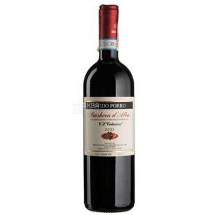 Barbera d'Alba, Guido Porro, Вино красное сухое, 0,75 л