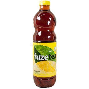 Fuzetea, 1,5 л, Чай Фьюзті холодний, чорний, Лимон