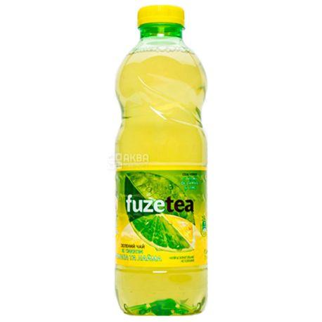 Fuzetea, 1 л, Чай Фьюзти холодный, зелёный, Лимон и лайм