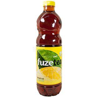 Fuzetea, 1 l, Ice tea, Black, Lemon, PET