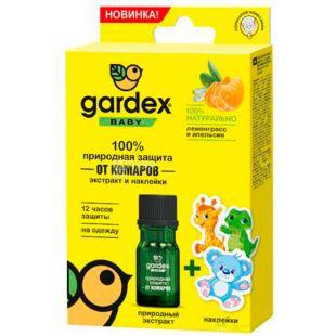 Gardex Baby, Экстракт от комаров + наклейки
