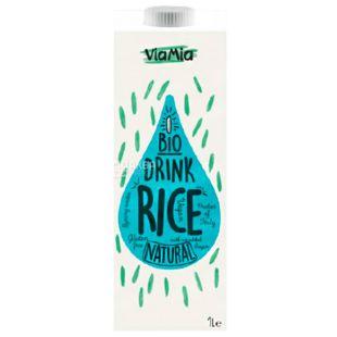 ViaMia, Bio Drink, Rice, 1 л, ВіаМіа, Напій рисовий органічний, без цукру і глютену