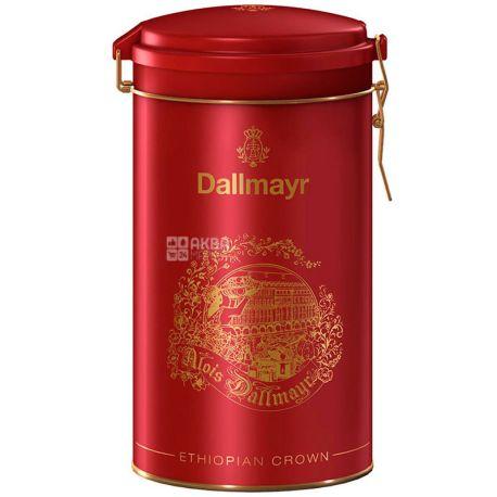 Dallmayr, Ethiopian Crown, 500 г, Кофе Далмайер Эфиопия Краун, средней обжарки, молотый, ж/б