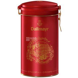 Dallmayr, Ethiopia Crown, 500 г, Кава Далмайер Ефіопія Краун, середньої обсмажування, мелений, ж/б
