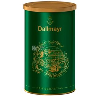 Dallmayr, San Sebastian 250 g, Coffee Dalmayer San Sebastian, medium roasted, ground, can