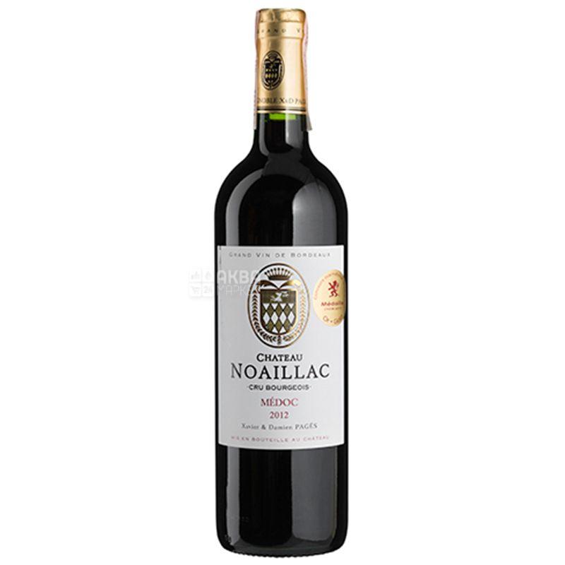 Chateau Noaillac, Вино червоне сухе, 0,75 л