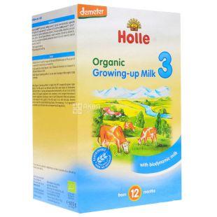 Holle, Суміш дитяча молочна органічна №3, С 12 місяців, 600 г