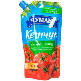 Chumak, 300 g, Ketchup, Tomato, For shashlik, doy-pack