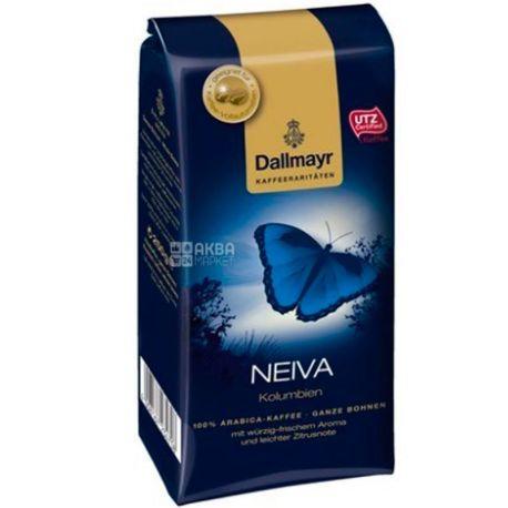 Dallmayr, Neiva, 250 г, Кофе Далмайер Нейва, средней обжарки, в зернах