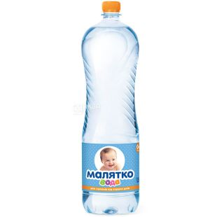Malyatko, 1.5 l, Non-aerated Water for Children, PET, PAT