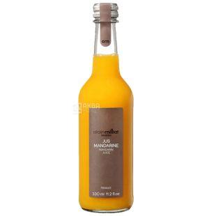 Alain Milliat, Jus Mandarine, 330 мл, Ален Миллиат, Сок мандариновый, стекло