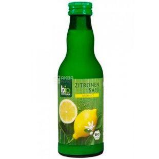 Bio Zentrale, Zitronen saft, 0,25 л, Біо Дзентрале, Сік лимона, органічний, скло