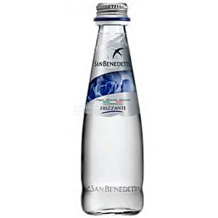 San Benedetto, 0.25 L, San Benedetto, Mineral carbonated water, glass