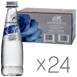 San Benedetto, 0,25 л, Упаковка 24 шт., Сан Бенедетто, Вода минеральная газированная, стекло