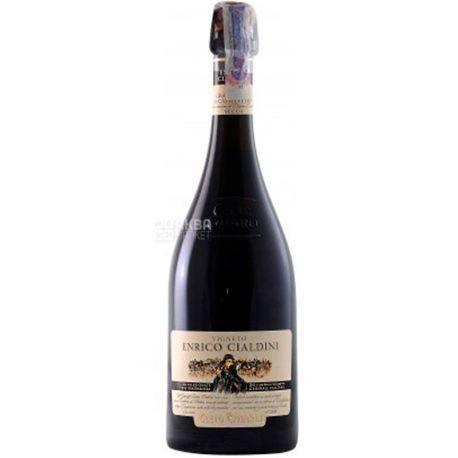 Cleto Chiarli Lambrusco Enrico Cialdini Grasparossa di Castelvetro, Chiarli, Игристое красное вино, 0,75 л