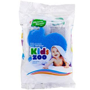 Little things in life, Sponge bath, figured Kidszoo, 1 pc.