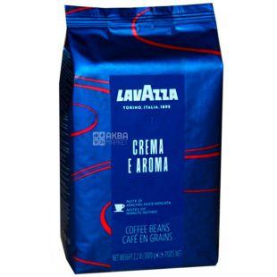 Lavazza, Crema e Aroma Espresso, 1 кг, Кава Лаваца, Крему е Арома Еспрессо, середнього обсмаження, в зернах