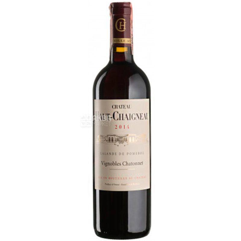 Chateau Haut-Chaigneau, Вино красное сухое, 0,75 л