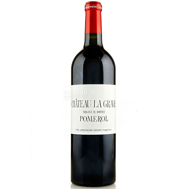 Chateau La Grave 2010, Вино красное сухое, 0,75 л