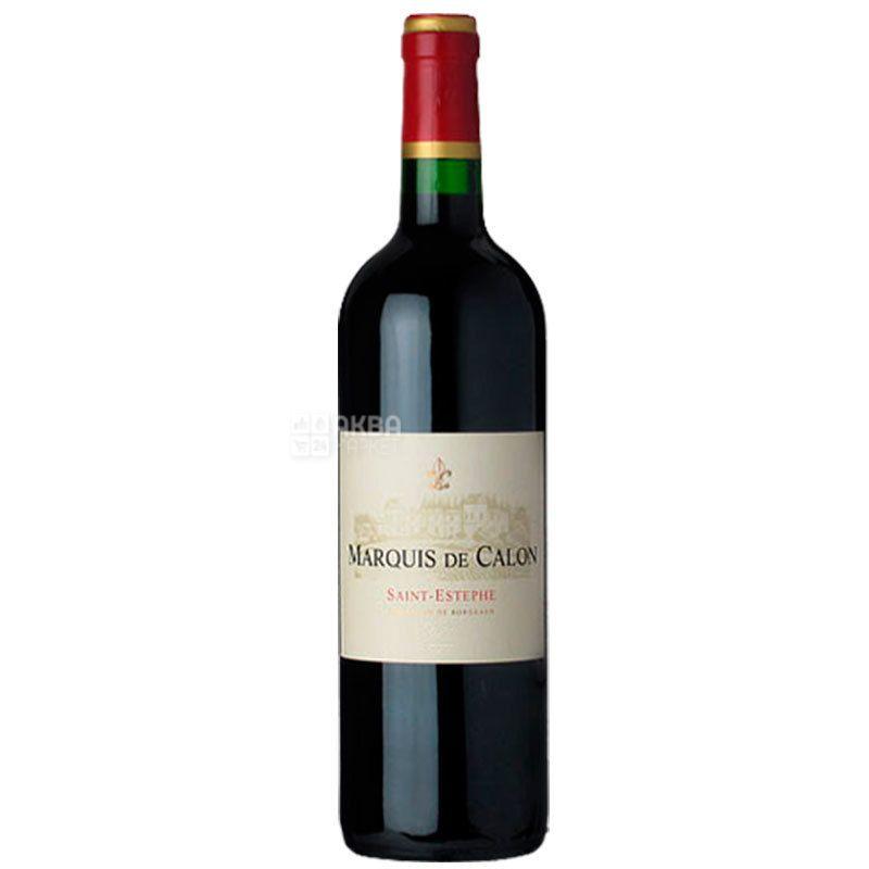 Chateau Marquis de Calon, Вино красное сухое, 0,75 л