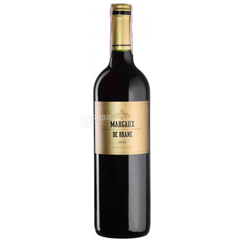 Baron de Brane Margaux De Brane 2014, Вино красное сухое, 0,75 л