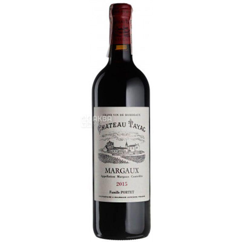 Chateau Tayac 2015, Вино красное сухое, 0,75 л