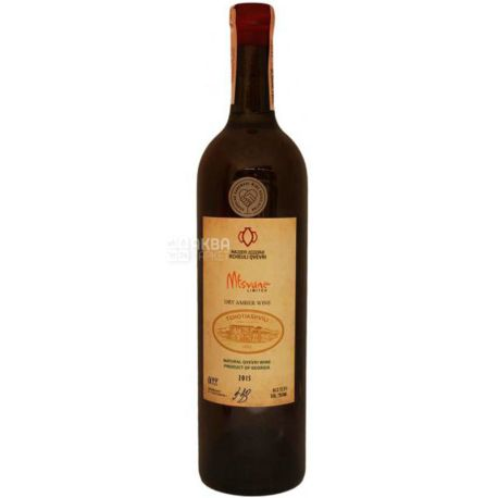 Tchotiashvili, Mtsvane Rcheuli Qvevri, Вино белое сухое, 0,75 л