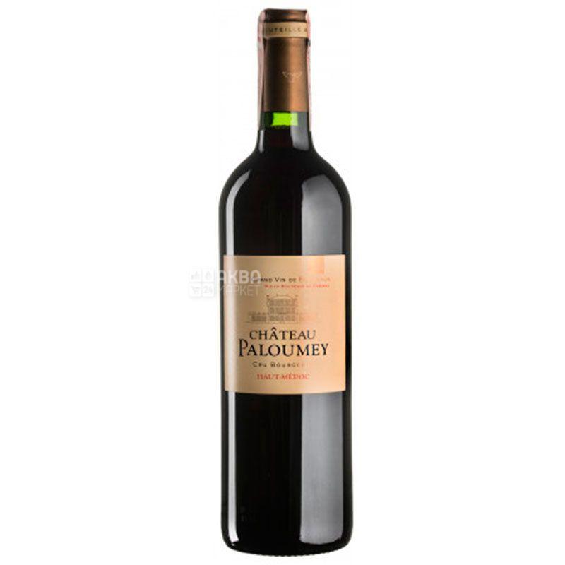 Chateau Paloumey 2014, Вино красное сухое, 0,75 л