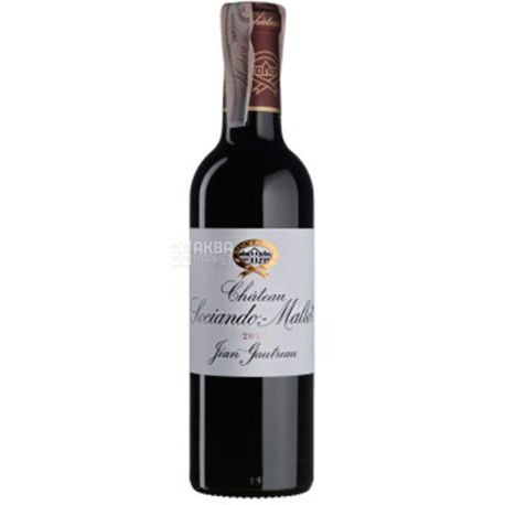 Chateau Sociando Mallet 2015, Вино красное сухое, 0,375 л