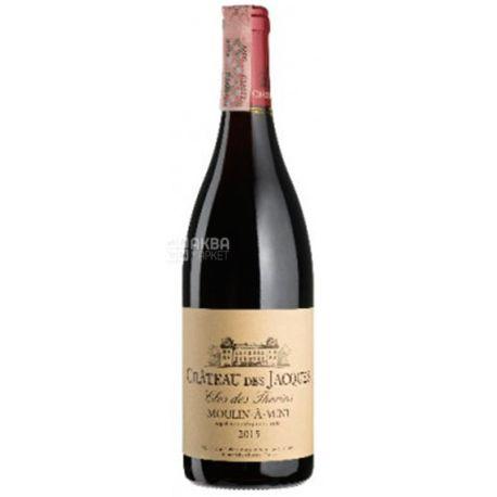 Louis Jadot, Moulin-a-Vent Clos des Thorins Chateau des Jacques 2016, Вино красное сухое, 0,75 л