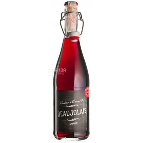 Victor Berard, Beaujolais Nouveau, Вино красное сухое, 0,75 л