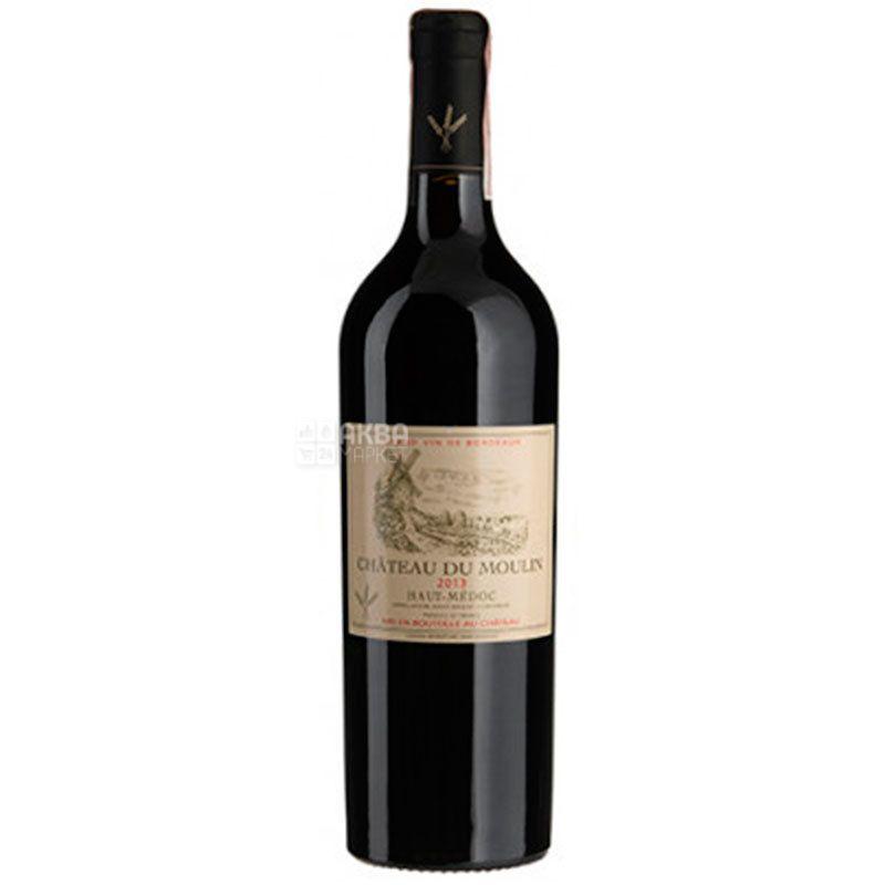 Chateau Moulin 2013, Вино красное сухое, 0,75 л