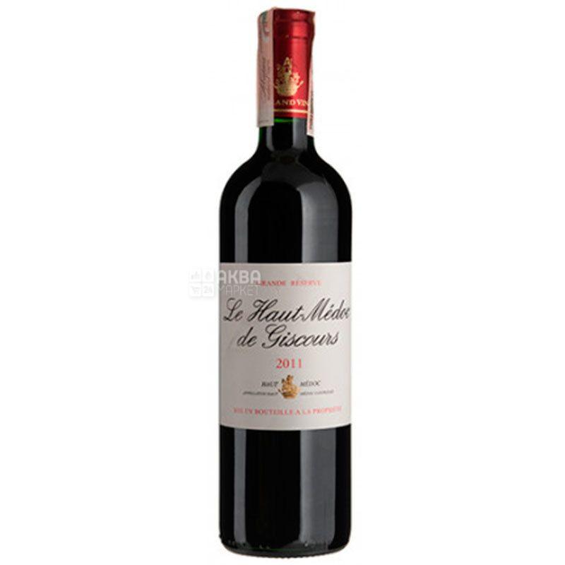 Chateau Le Haut Medoc de Giscours, Вино красное сухое, 0,75 л