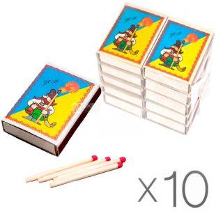 УСФ, Спички бытовые, формат 4, упаковка 10 шт.