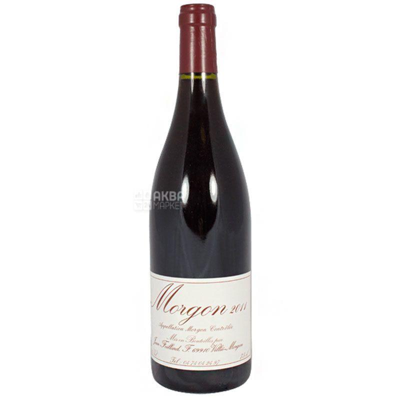Jean Foillard, Morgon Classique, Вино красное сухое, 0,75 л
