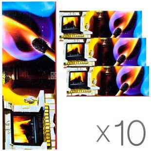 УСФ, Спички для камина,120 мм, упаковка 10 шт.
