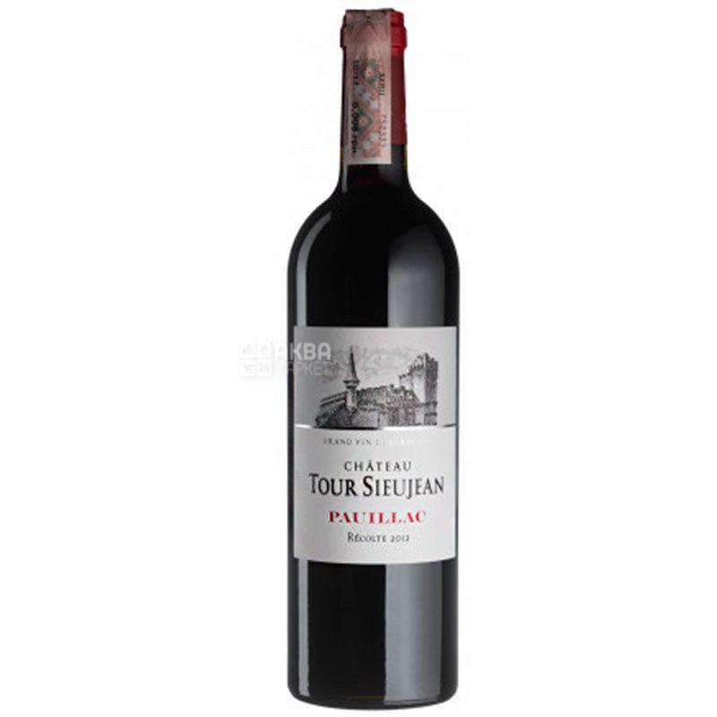 Chateau Tour Sieujean 2012, Вино красное сухое, 0,75 л
